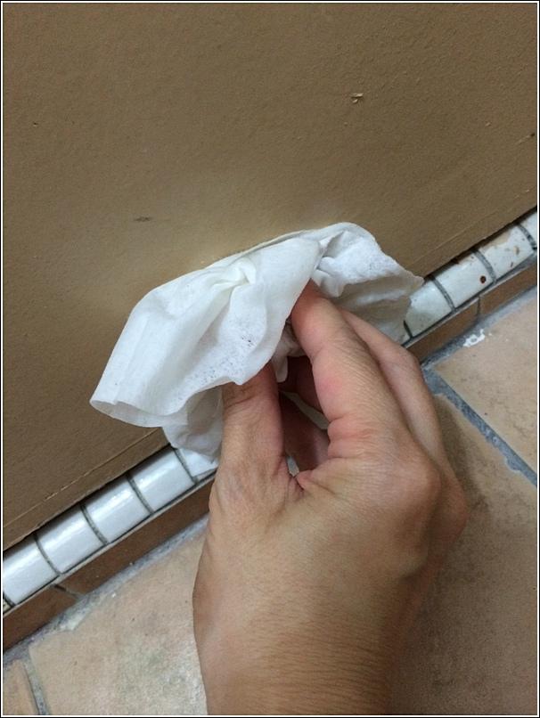Door insulating tape diy 1