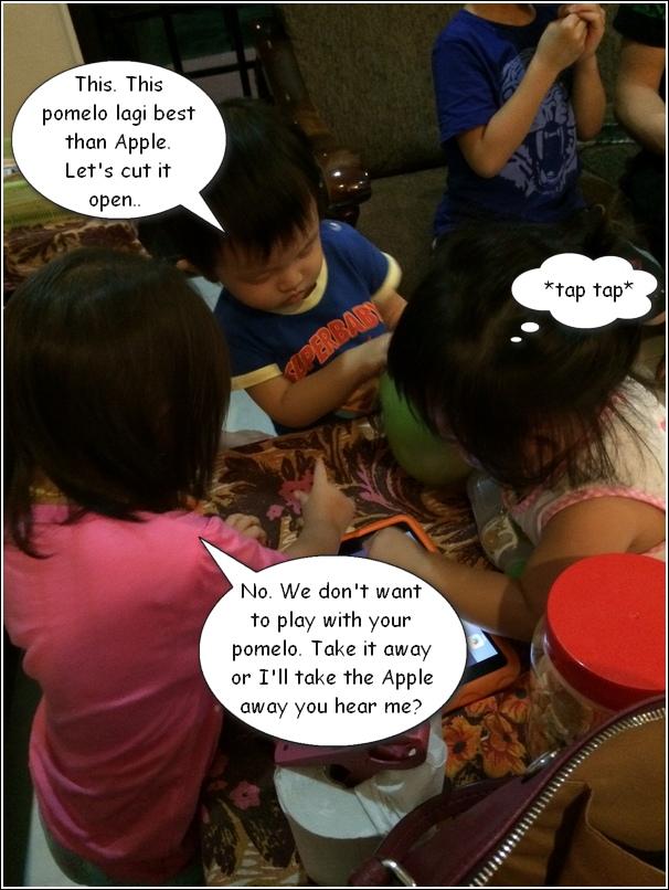 Pomelo vs Apple 4