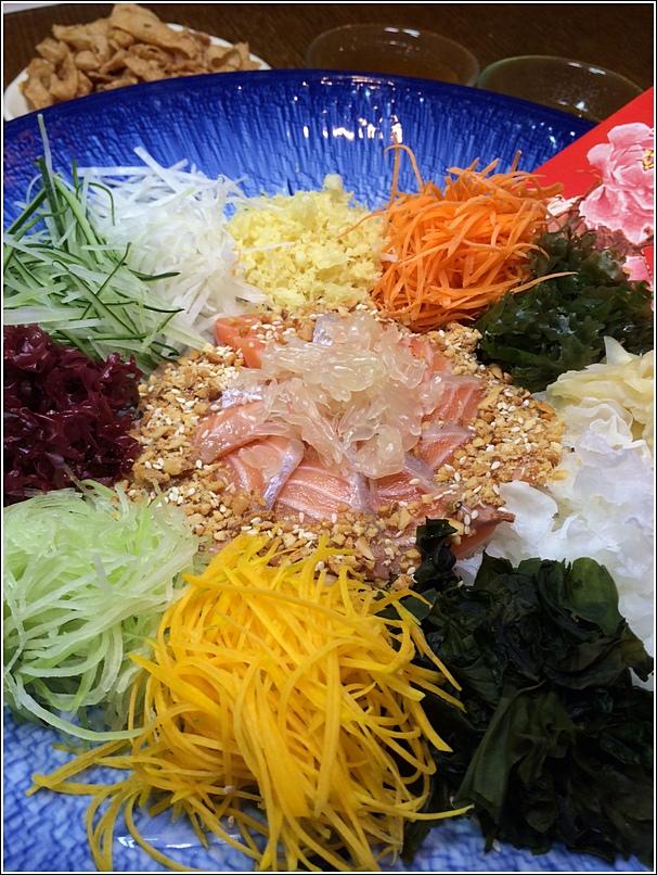 Xenri Salmon Yee Sang