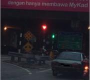 heart shaped traffic light