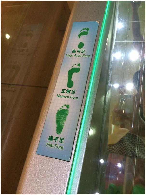 Dr Kong foot type