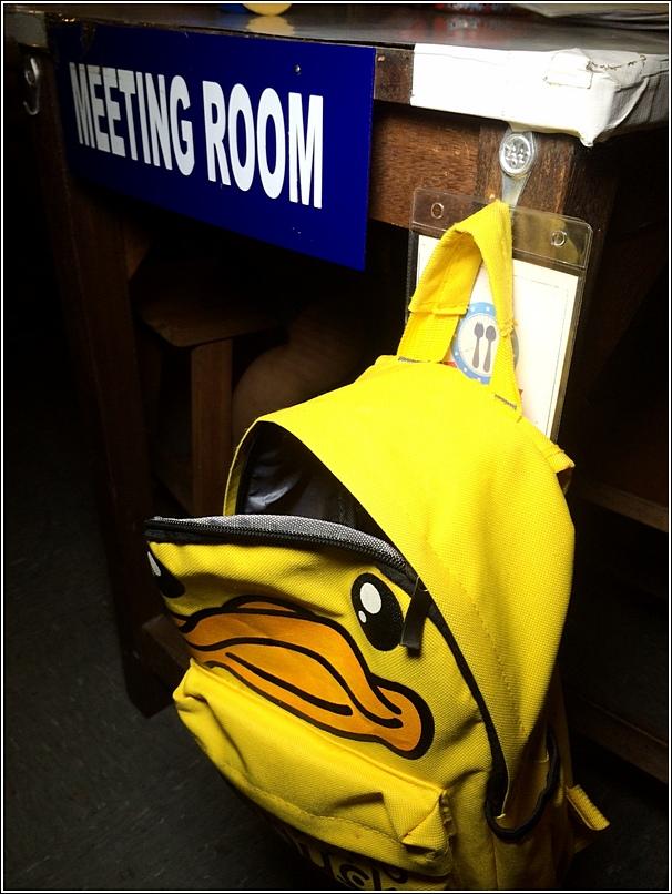 Ecole P duck bag