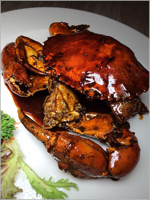 Parkroyal marine harvest marmite crab