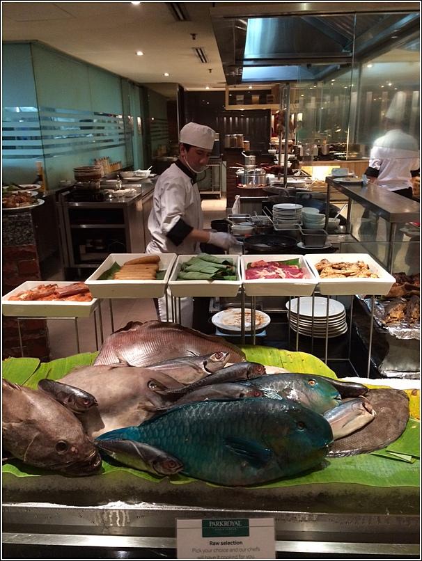 Parkroyal marine harvest seafood