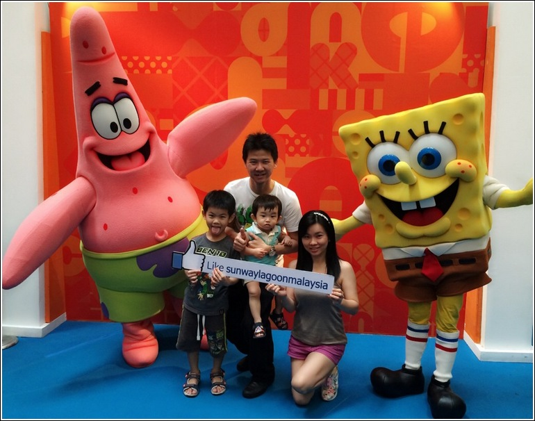 Sponge Bob Square Pants in Sunway Lagoon