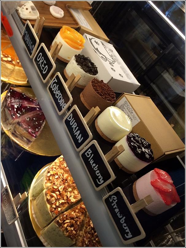 caffe crema cheesecakes