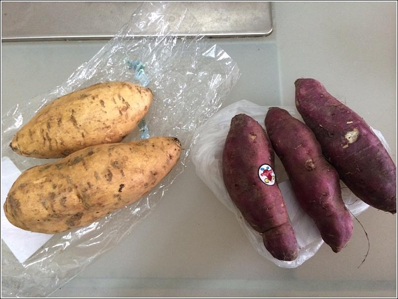 Battle of the sweet potatoes