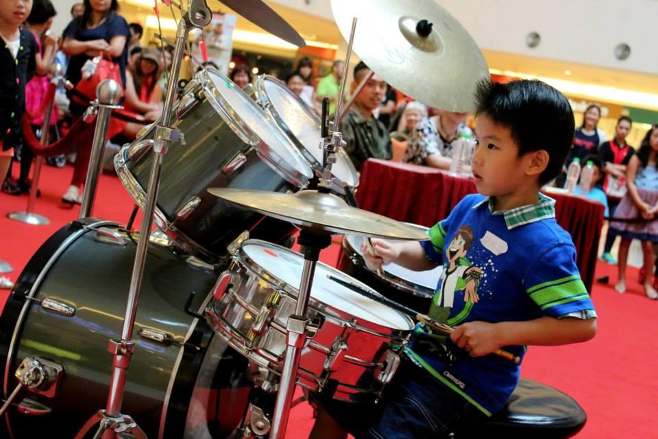 Drummer Ethan