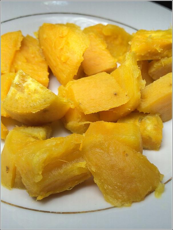 Indonesia sweet potatoes