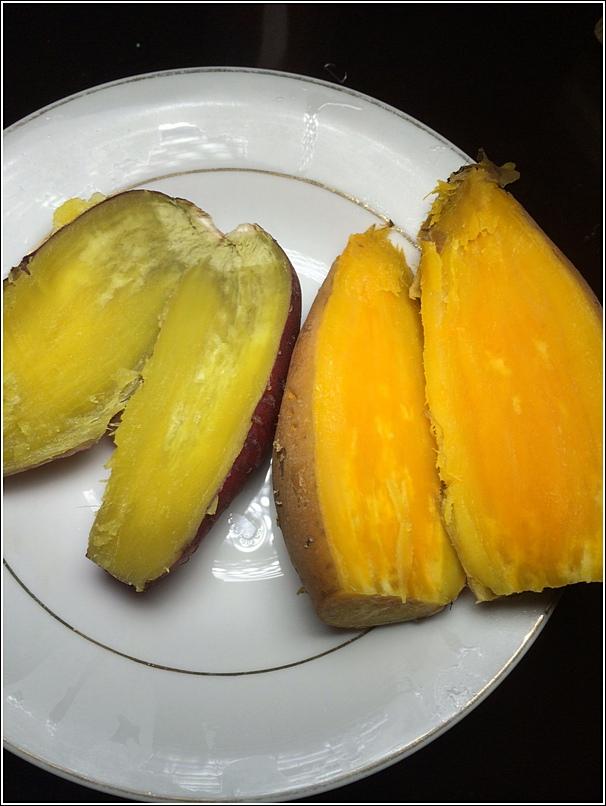 Japanese vs Indonesian potatoes