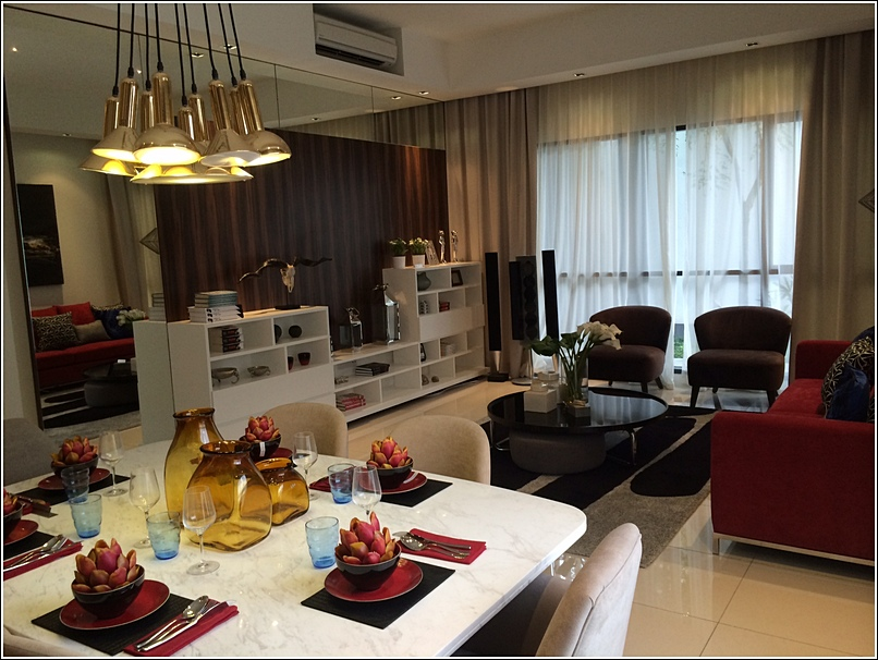 Tropicana Cyperus Serviced Residences dining room