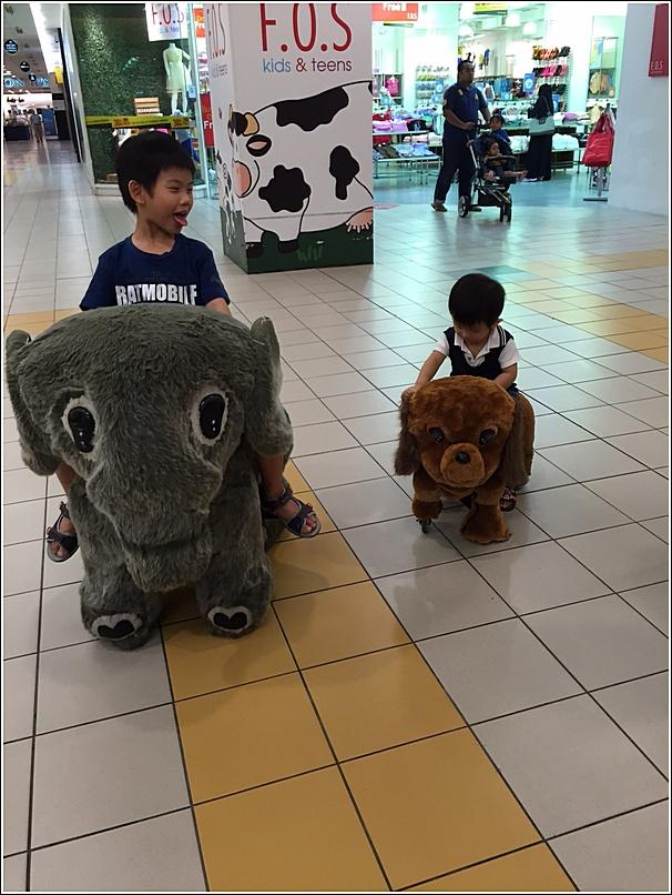 Animal kiddy ride 1u big n small