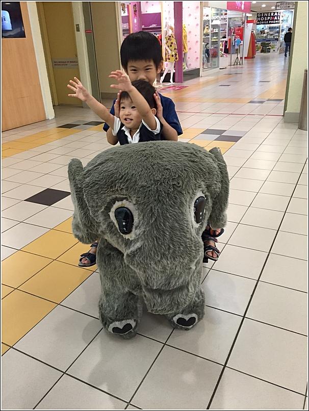 Animal kiddy ride