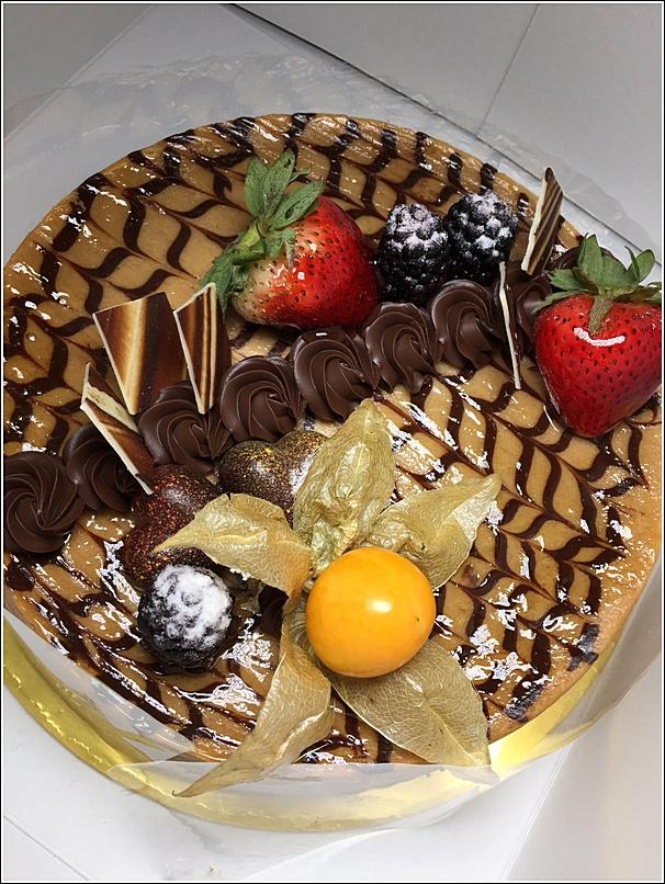 Chocolate cheesecake from Eastin Hotel