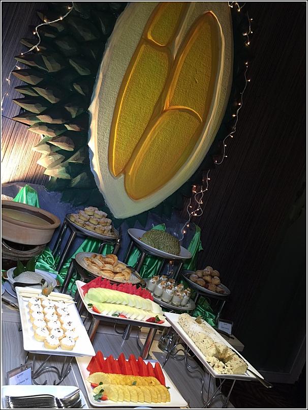 Durian dessert for ramadhan buffet Eastin