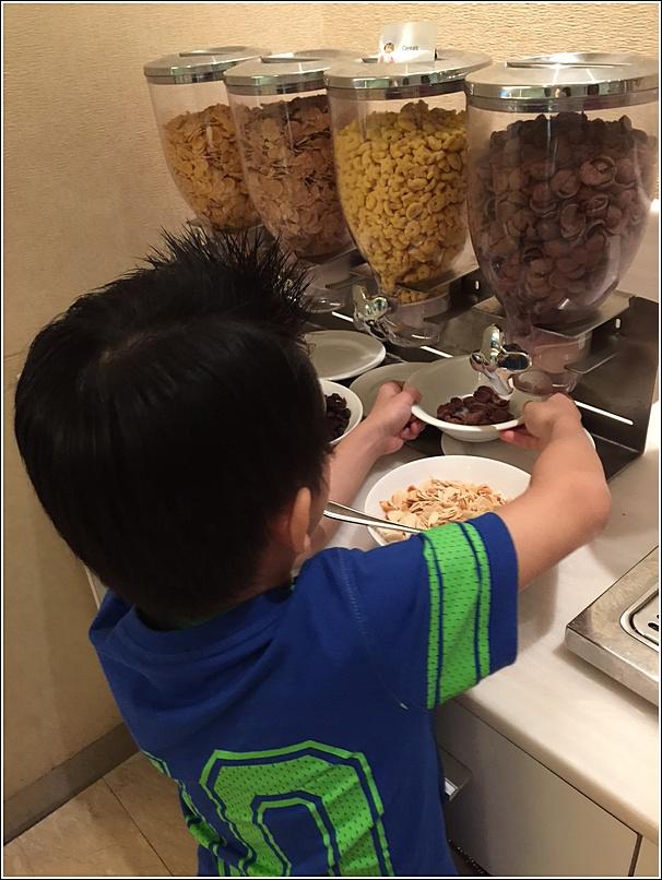 Eastin hotel cereals