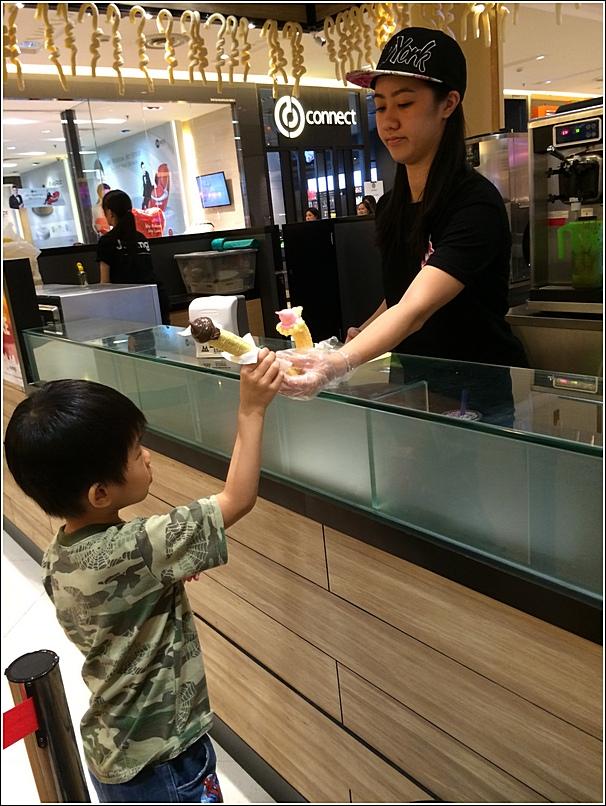 Jipangi Sunway Pyramid ice cream