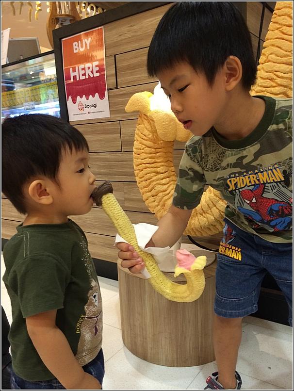 Jipangi ice cream Sunway Pyramid sharing for two