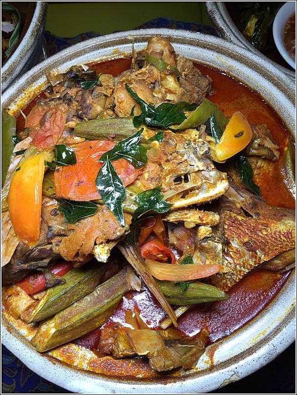 Kari kepala ikan menu ramadhan