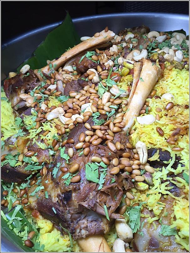 Pullman ramadan lamb briyani