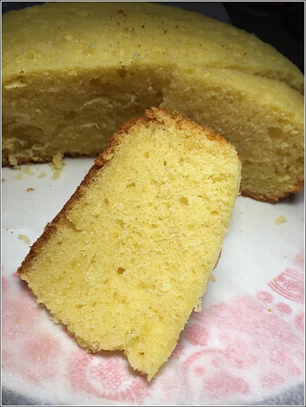Rice cooker baked butter cake