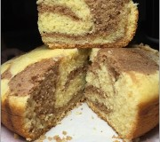 Rice cooker cake marble cake recipe 11