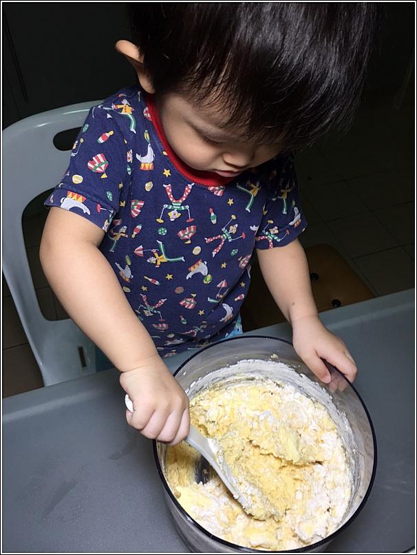 Rice cooker cake marble cake recipe 4