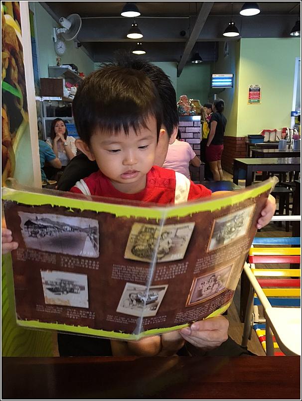 Angcle Peoh menu