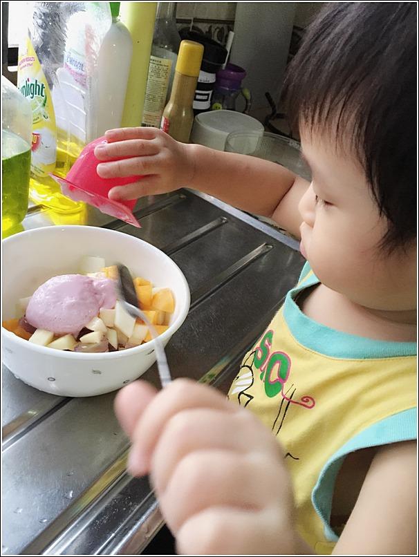 DIY Fruit salad for toddlers