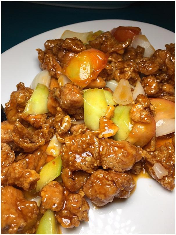 Genting Resort Seafood Sweet n Sour chicken