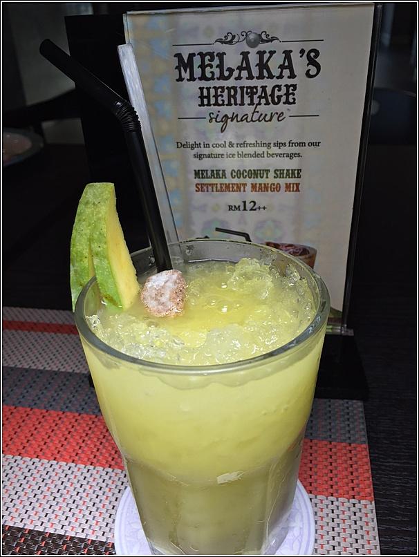 Makan Nyonya Malacca Heritage Settlement Mango