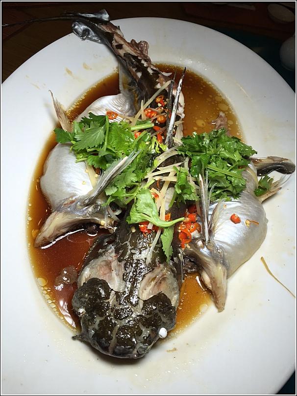 Patin fish dish