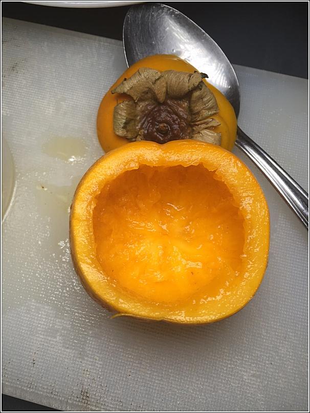 Persimmon soup recipe 1