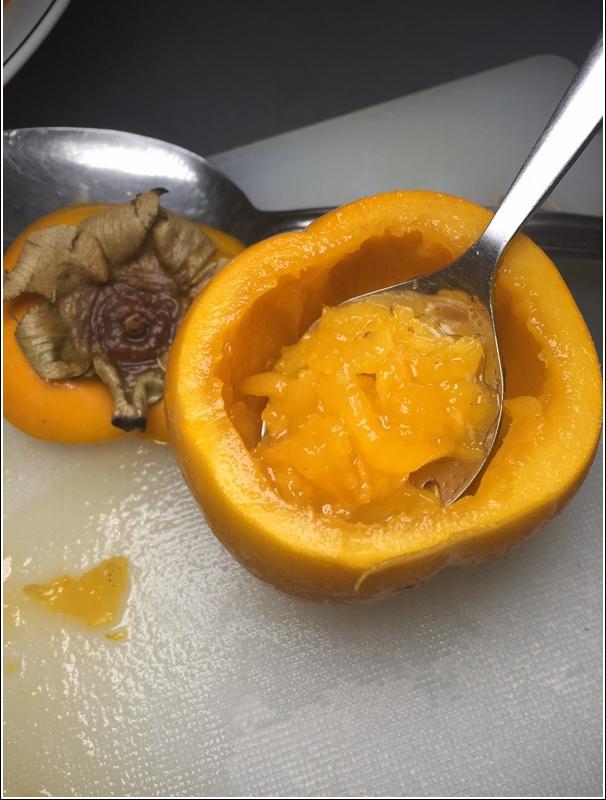 Persimmon soup recipe 2