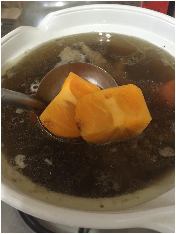 Persimmon soup recipe3