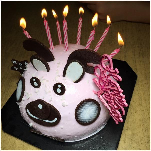 Baskin Robbins reindeer icecream cake 1