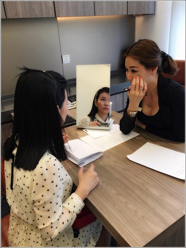 Sloane Clinic face reading workshop