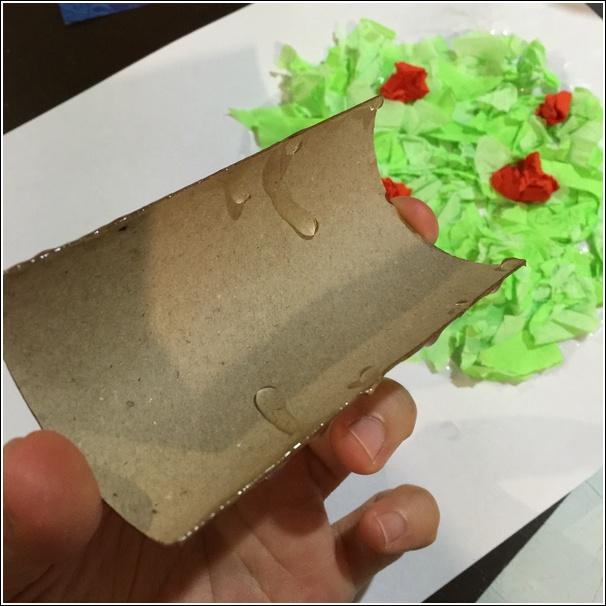 Toilet Paper Roll Apple Tree 11