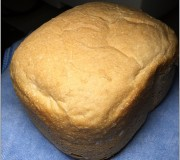Breadmaker basic bread