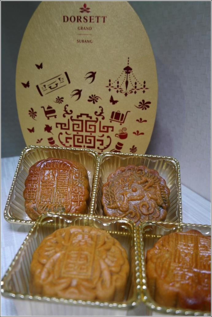 Dorsett Grand Subang Halal Mooncakes