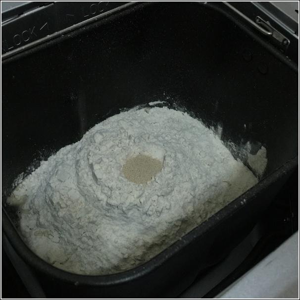 Homemade bread ingredients yeast