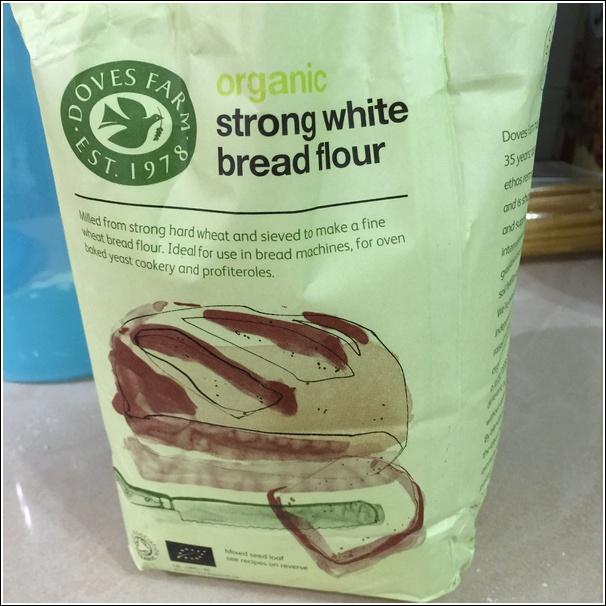Organic flour for bread