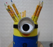 Minion pencil holder