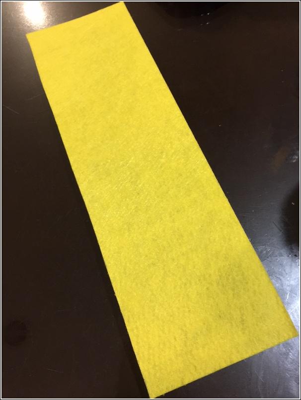 Yellow Felt for minion