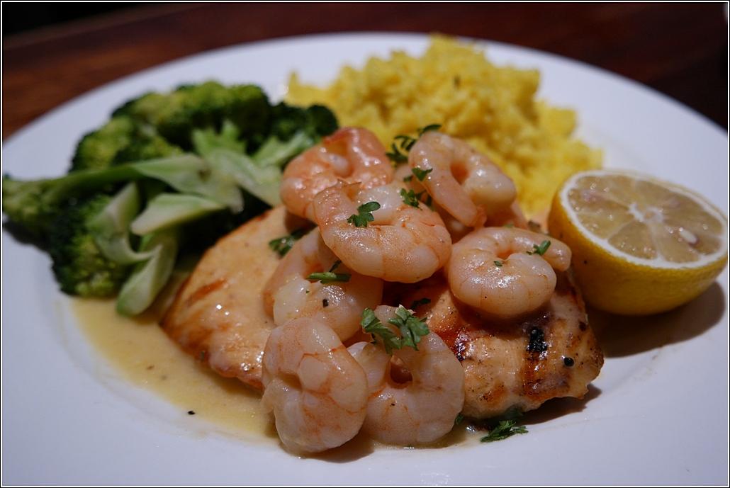 Salmon n shrimp