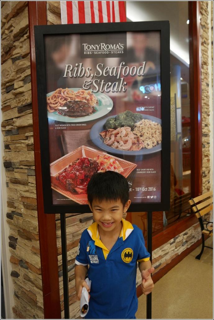 Tony Roma Ribs Seafood and Steak promo