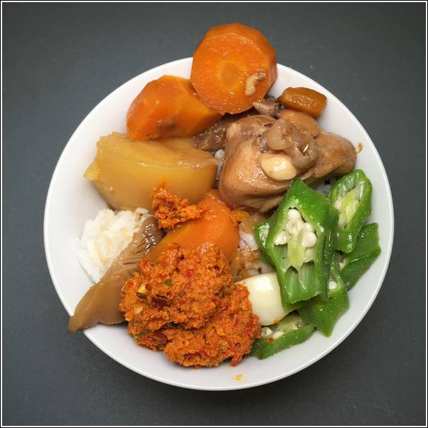 asian chicken stew
