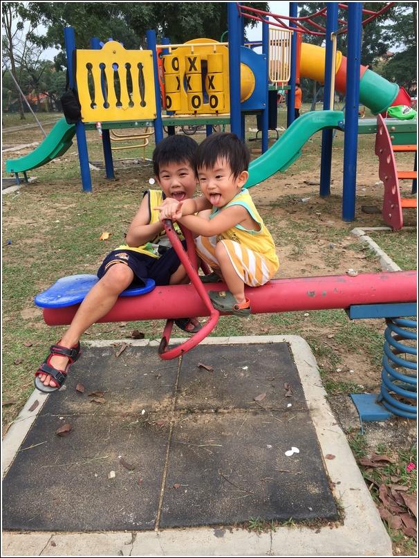 boys in playground