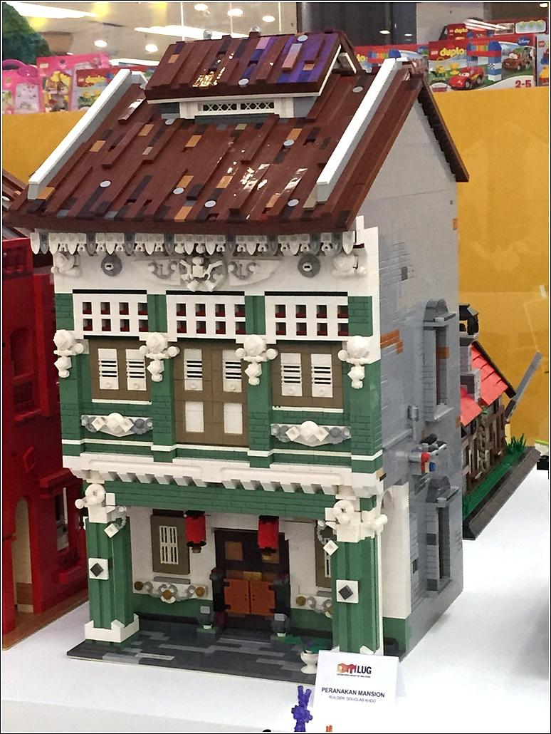 LEGO Peranakan house