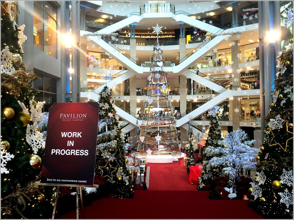 Pavilion Christmas decoration